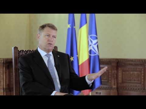 Interviu cu Președintele României, Klaus Iohannis, de Ziua Europei