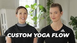 10 Minute Supermodel Yoga Routine with Yoga With Adriene | Karlie Kloss