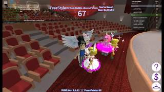 I Got talent! Me wowing the crowd / roblox with Olivia