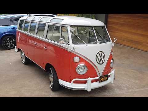 Restored 1964 Volkswagen Type 2 21-Window Sunroof Deluxe