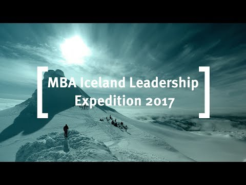 Cass Business School: Full-Time MBA Iceland Leadership Expedition 2017