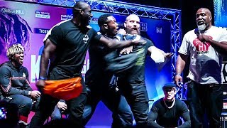 KSI trainer: If Shannon Briggs can PASS A DRUG TEST I'll fight him!