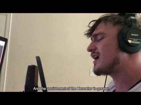 Fatih Seferagic - Surah Qalam FULL English subtitles