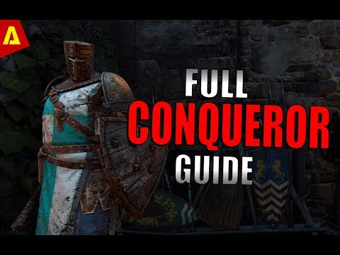 High Level Conqueror Guide With Treejak