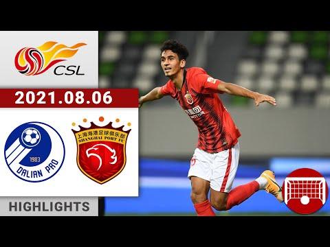 Dalian Pro Shanghai SIPG Goals And Highlights