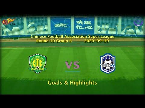 Beijing Guoan Tianjin Teda Goals And Highlights