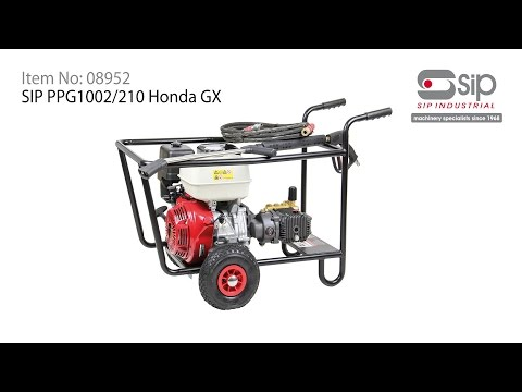 SIP Industrial Products | Item 08952 - PPG1002/250 Honda GX Pressure Washer