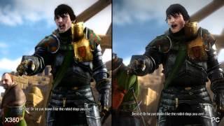Сравнение графики PC и Xbox 360