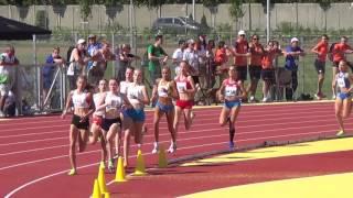 European Youth Olympic Festival Györ 2017 - 1500m U17 Women Final