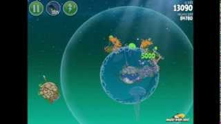 Angry Birds Space Pig Dipper 6-27 Walkthrough 3-Star