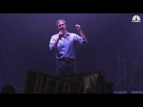 Democrat Beto O\'Rourke speaks after losing Senate race to Ted Cruz