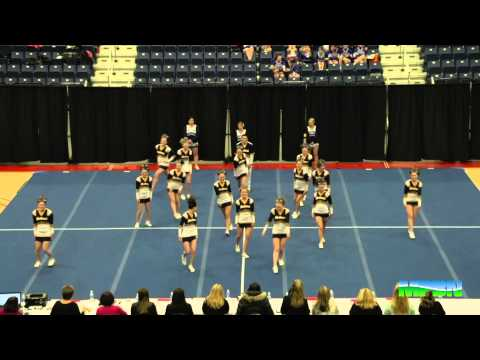 2015 Maine High School Cheering Chamionships Class B and C