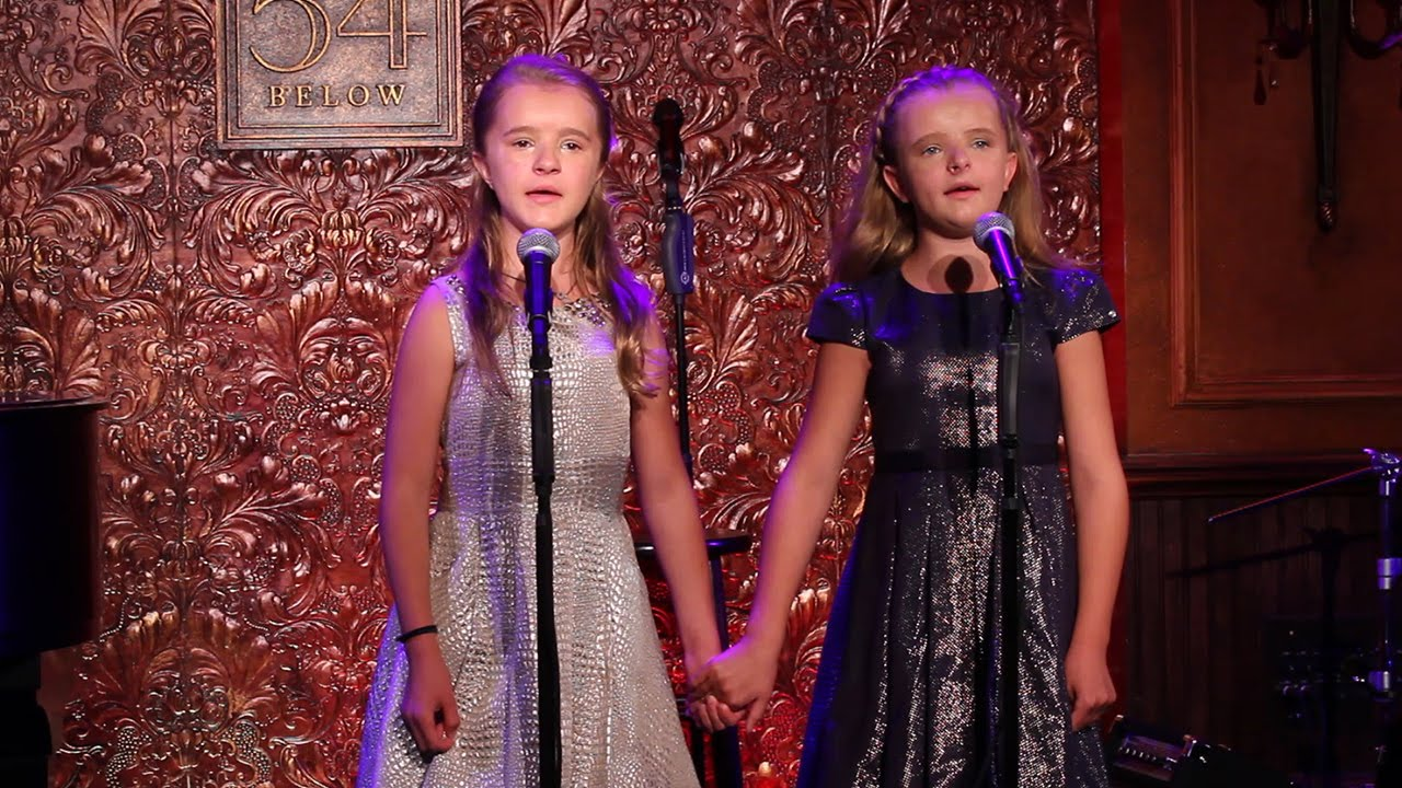 Matildas Milly Shapiro And Her Sister Abigail Share Their Sisterly Love At 54 Below