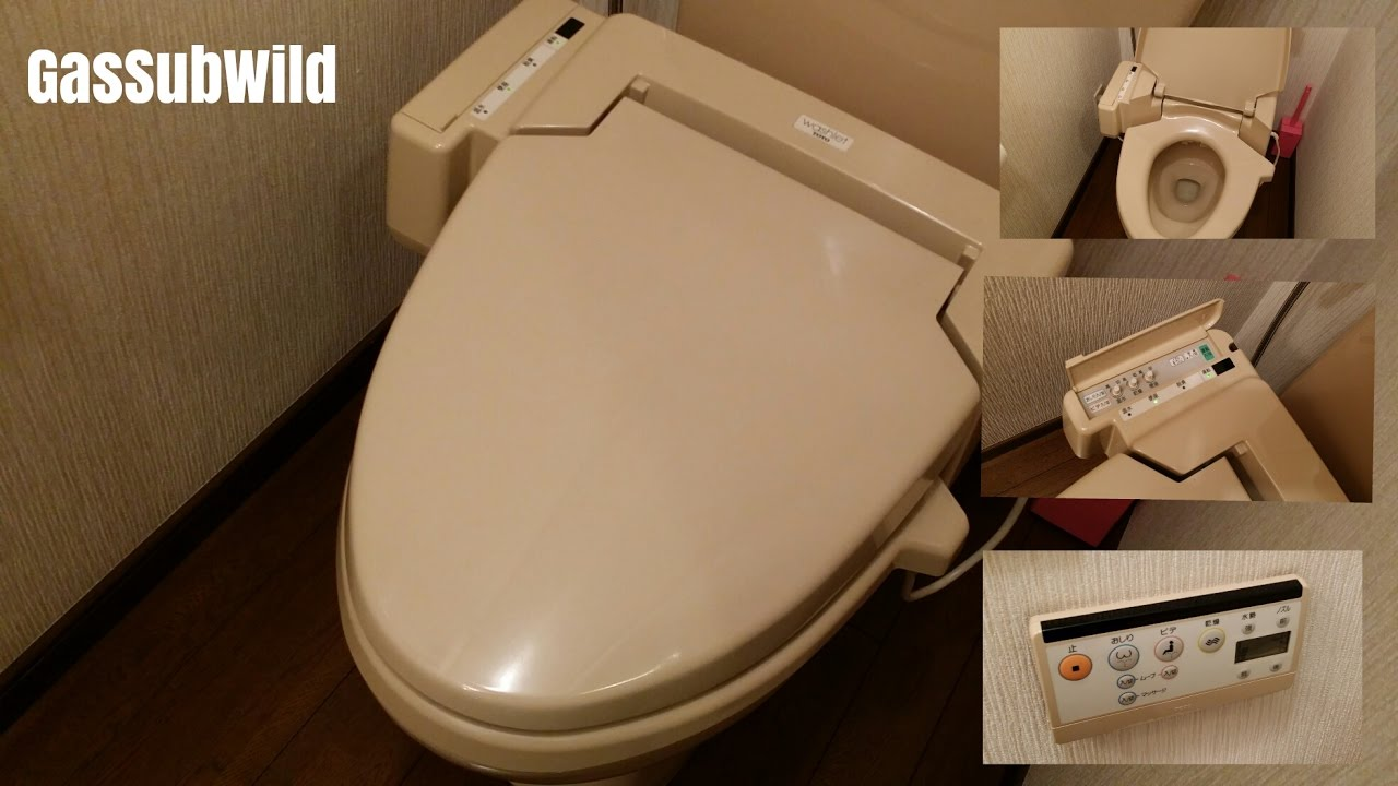 1 17 17 .. My house restroom renovation, Japanese High-Tech Toilet ...