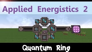 Applied Energistics 2 Tutorial: Quantum Ring & Matter Condenser [ENG]