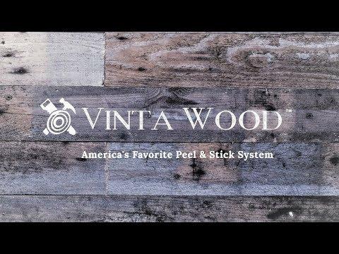 Peel and Stick Wood Planks - Vinta Wood