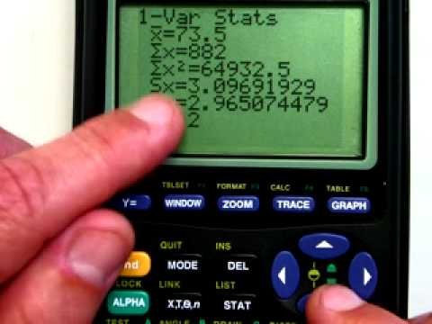 Ti graphing calculator basic calculations youtube ccuart Gallery