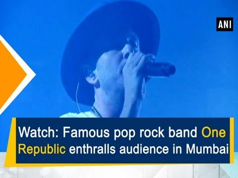 Watch: Famous pop rock band One Republic enthralls crowd in Mumbai - Bollywood News