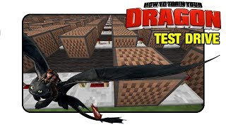 "How To Train Your Dragon ""Test Drive"" - Minecraft Xbox 