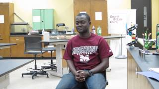 Ishmael Ochir: CCC Faculty Mentoring Project Interviews
