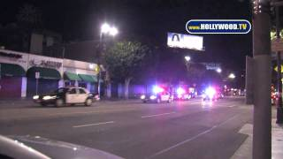 EXCLUSIVE: Police Activity Strikes Hollywood Boulevard