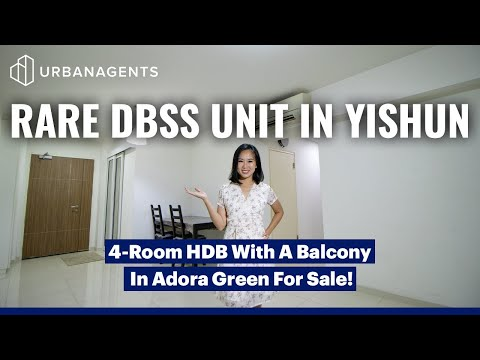 Adora Green | Cosy 4-Room Unit In Yishun's First DBSS Project! | Singapore Property Listing