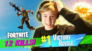 Fortnite Battle Royale | 12 KILLS I EN VICTORY ROYALE!
