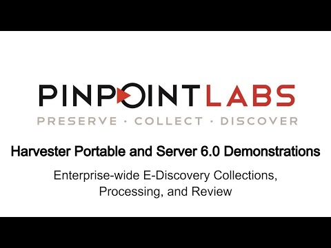 Harvester 6.0:  Enterprise-wide E-discovery Collections, Processing, And Review.