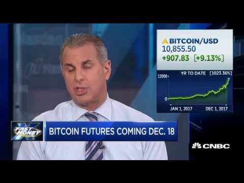 Bitcoin soars as futures coming to CME December 18th