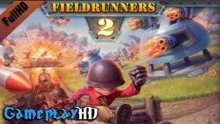 Fieldrunners 2 Gameplay (PC HD)