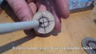 How To Make Double Sided Coin Rings:  EASY DEAD CENTER