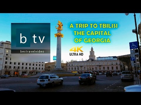 A Trip to Tbilisi, the capital of Georgia, in 4K - UHD