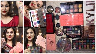 Huge Affordable Branded Eyeshadow Declutter Sale Giveaway || Affordable Makeup India || Eyeshadow