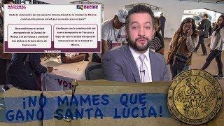 ¡NO MAMES QUE  GANÓ SANTA LUCÍA! - EL PULSO DE LA REPÚBLICA