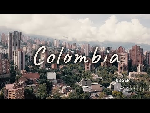 Colombia travel video - backpacking trip (2019)