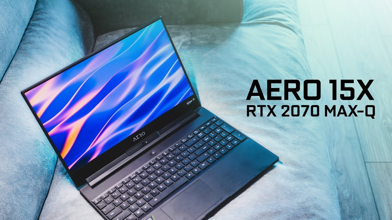 Our Favorite RTX Gaming Notebook So Far!  Gigabyte Aero 15x 2019