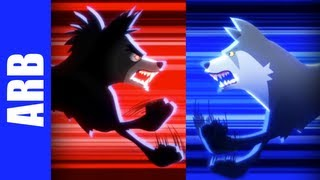 Repeat youtube video Insanity Wolf vs. Courage Wolf - ANIMEME RAP BATTLES