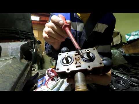 ремонт клапанов печки техническое обслуживание ремонт w140
