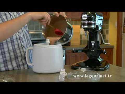 Very Chocolate Ice Cream - LeGourmetTV
