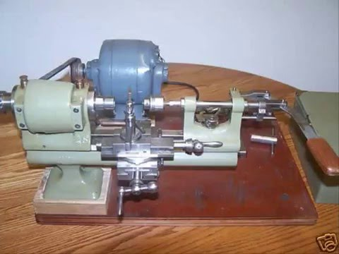 Jewelers Lathe For Sale- Watch Video!