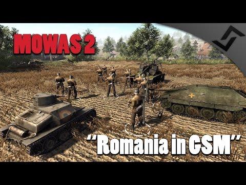 Men of War: Assault Squad 2 - Romania in German Soldiers Mod