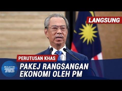 [LANGSUNG] Perutusan Khas Pakej Rangsangan Ekonomi oleh PM | 27 Mac 2020