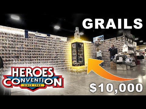 $10000 in Funko Pop Grails Found - Heroes Con 2019
