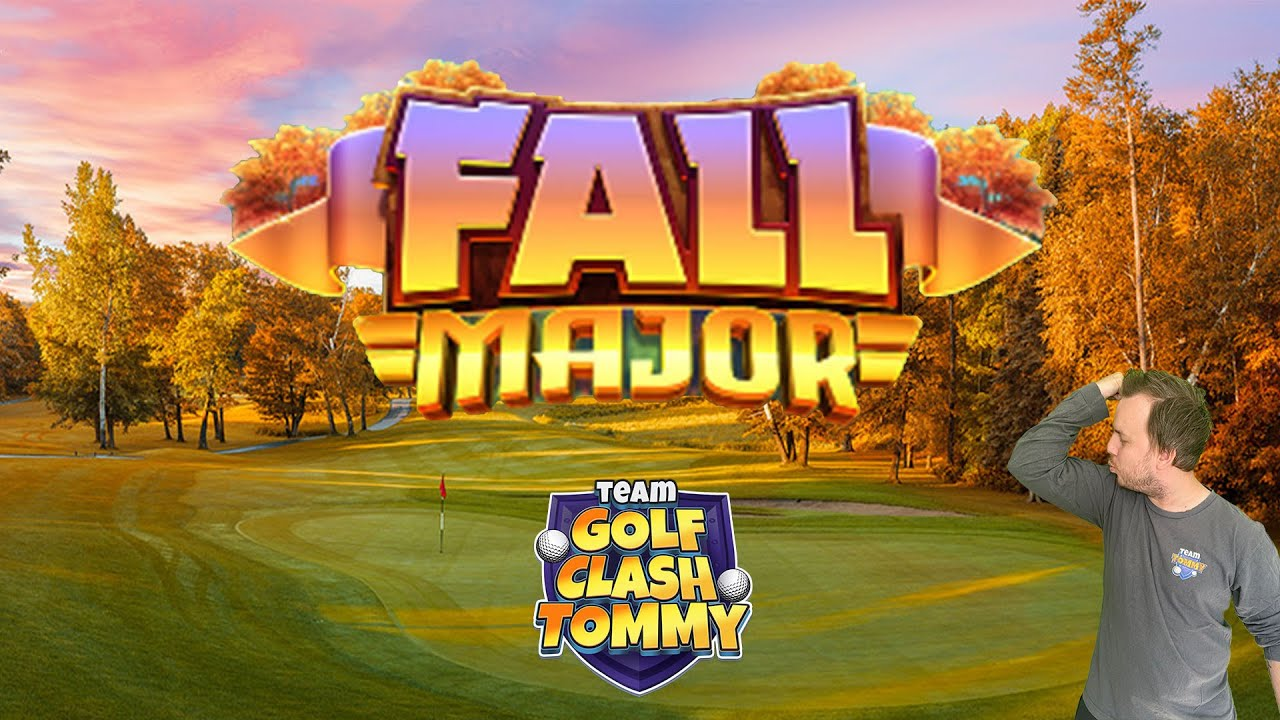 Golf Clash Tournament Reveal Fall Major Tournament Starts The 23rd Of Nov Youtube