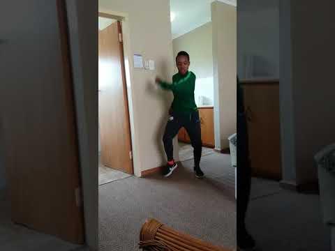 Banyana Banyana  Member Dancing To Abafana Aba Nice