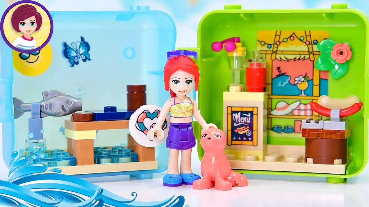 A Seal of Unlikely Colours - Lego Friends Mia's Summer Cube Build & Review