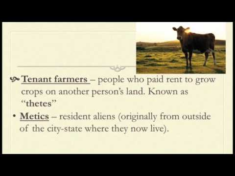 10-2 Notes: Ancient Greek Society and Economy