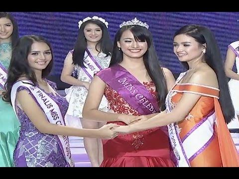 Moment Kemenangan Miss Celebrity Indonesia 2016