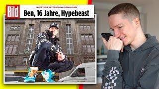 ,,Ben (16), Hypebeast'' (Bild.de Artikel) 😂