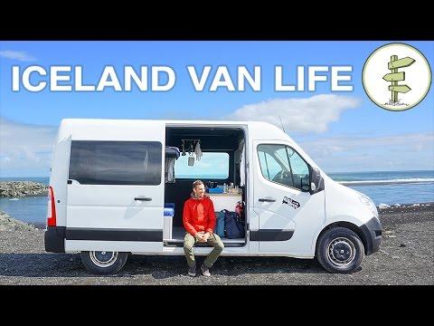 Van Life in Iceland - Awesome Sprinter Camper Van Tour